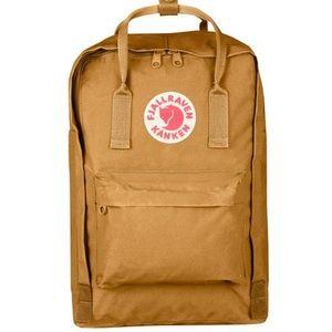 FJALLRAVEN  KANKEN 15 Inch Laptop Bag Acorn